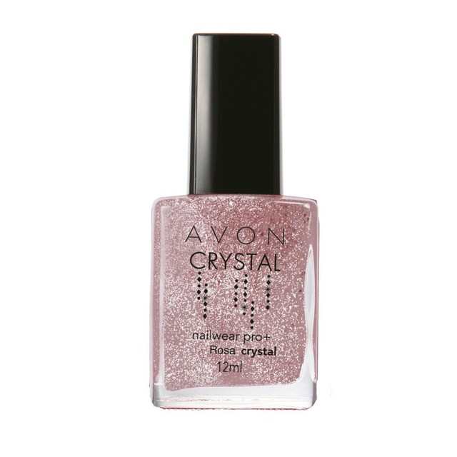 Avon Esmalte Nailwear Pro+ Rosa Crystal 12 ml 52618-3
