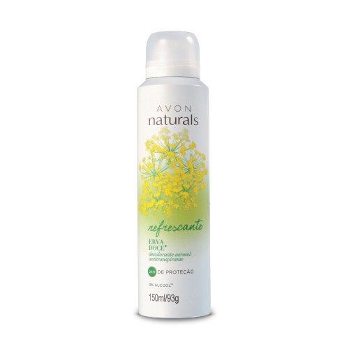 Avon Naturals Erva Doce Desodorante Aerosol Antitranspirante 150ml/93g 51348-2