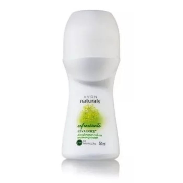 Desodorante Roll-on Erva Doce Avon Naturals 50ml
