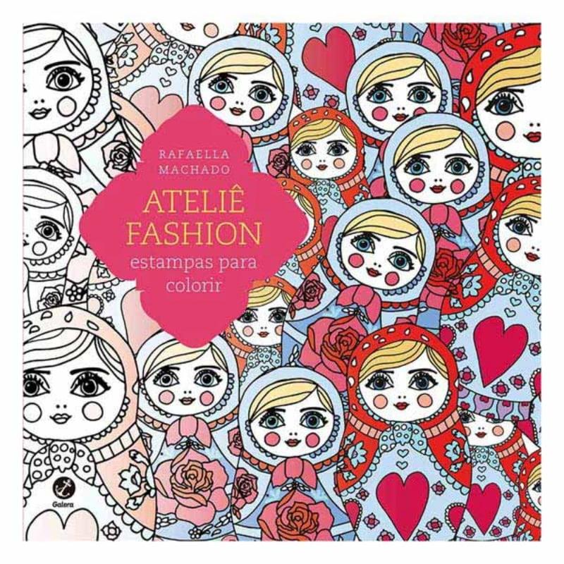 Atelie Fashion: Estampas para Colorir Avon Moda e Casa  Editora Record