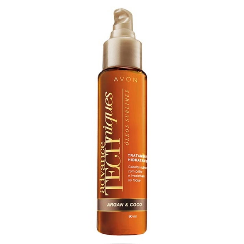 Avon Argan Coco Óleos Sublimes Tratamento Hidratante AT 90ml