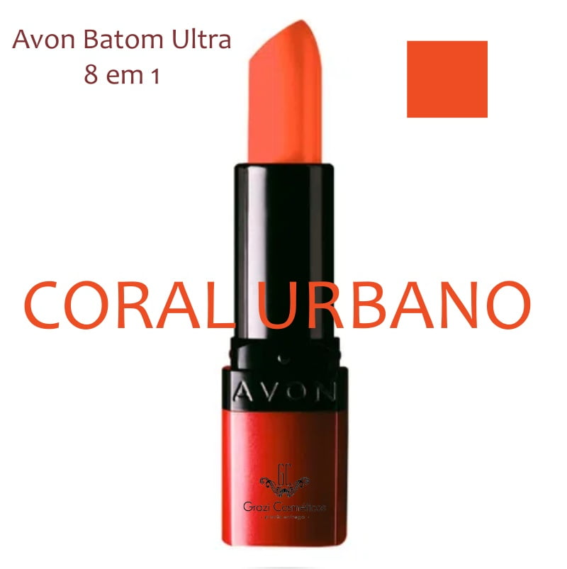 Avon Batom Ultra 8 em 1 Coral Urbano 3,6g