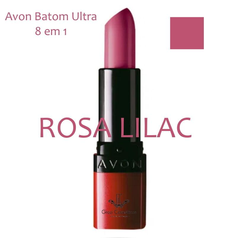 Avon Batom Ultra 8 em 1 Rosa Lilac 3,6g