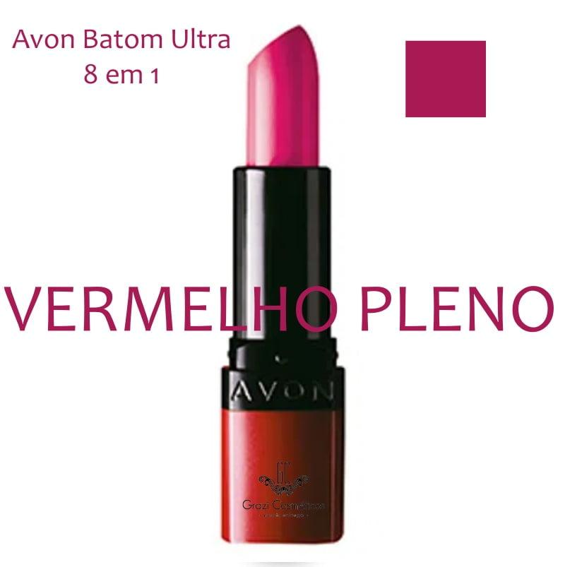 Avon Batom Ultra 8 em 1 Vermelho Pleno 3,6g