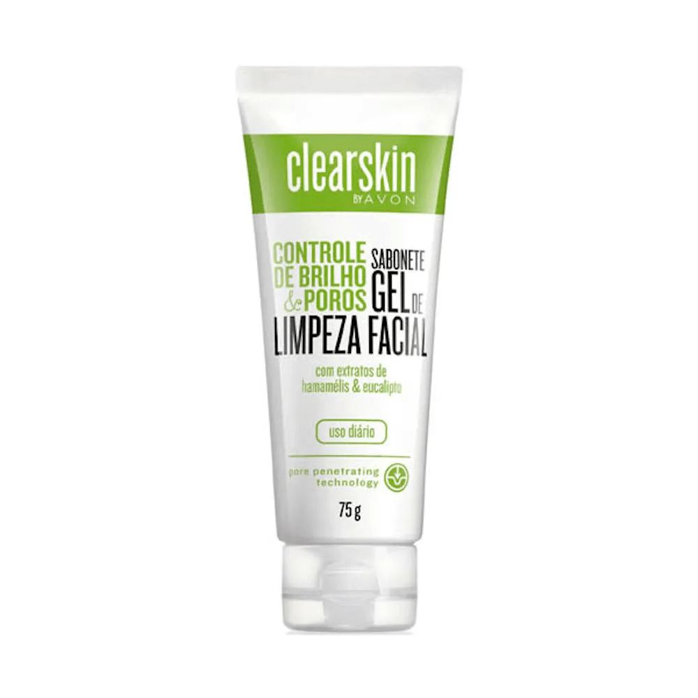Avon Clearskin Gel Facial de Limpeza Profunda 75 g