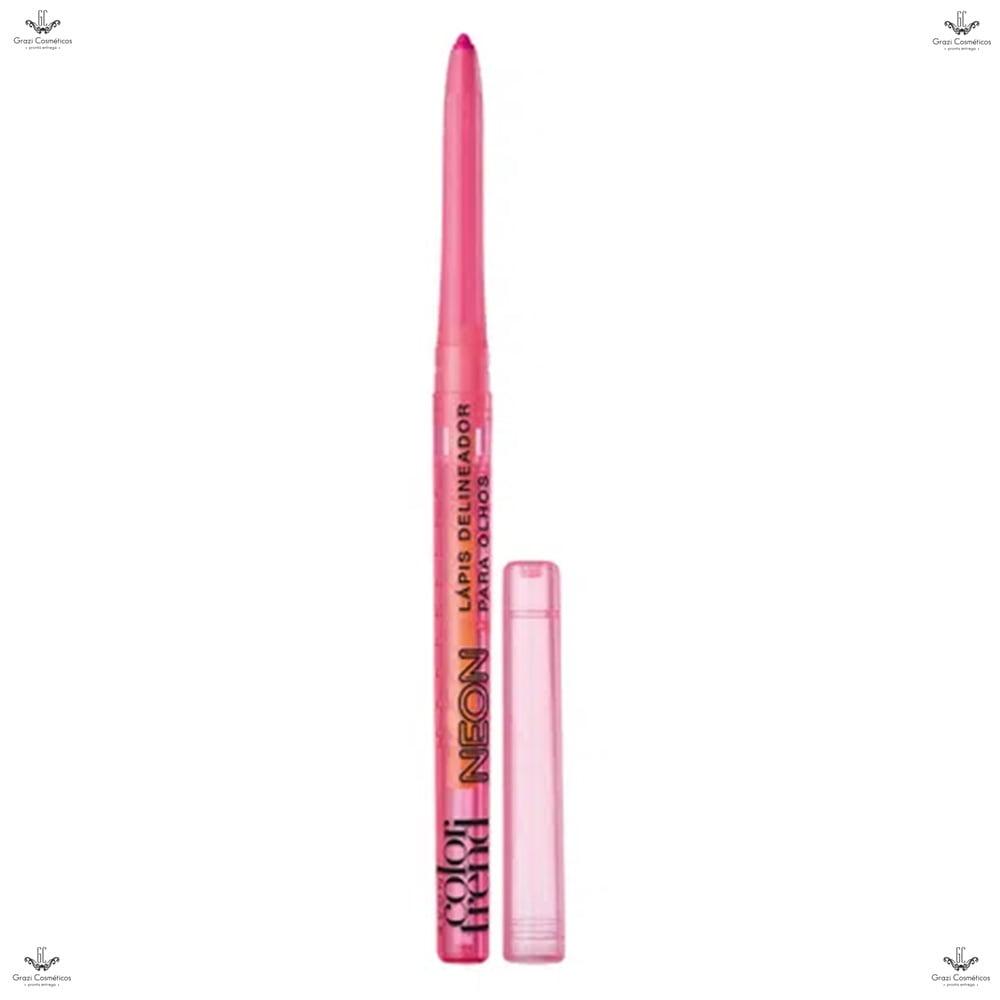 Avon Color Trend Delineador Neon Retrátil 350mg Pink Neon