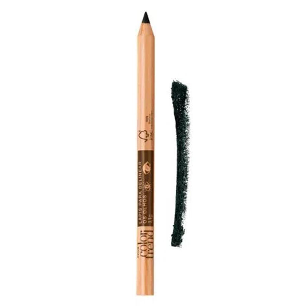 Avon Color Trend Lápis para Delinear Olhos Preto 1,1g