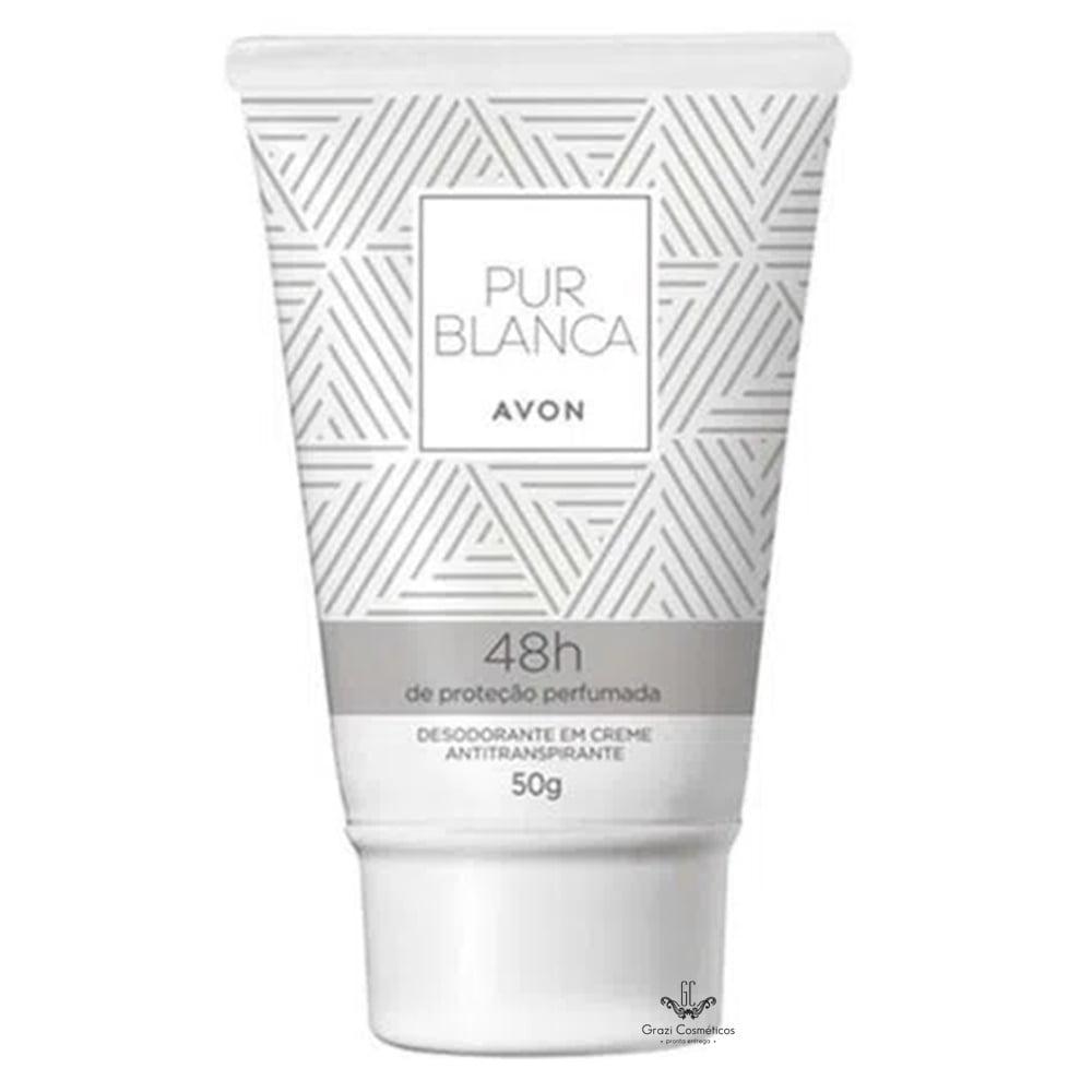 Avon Desodorante em Creme Antitranspirante Pur Blanca 50 g