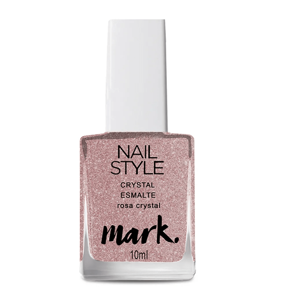 Avon Esmalte MARK. CRYSTAL Rosa Crystal 10 ml