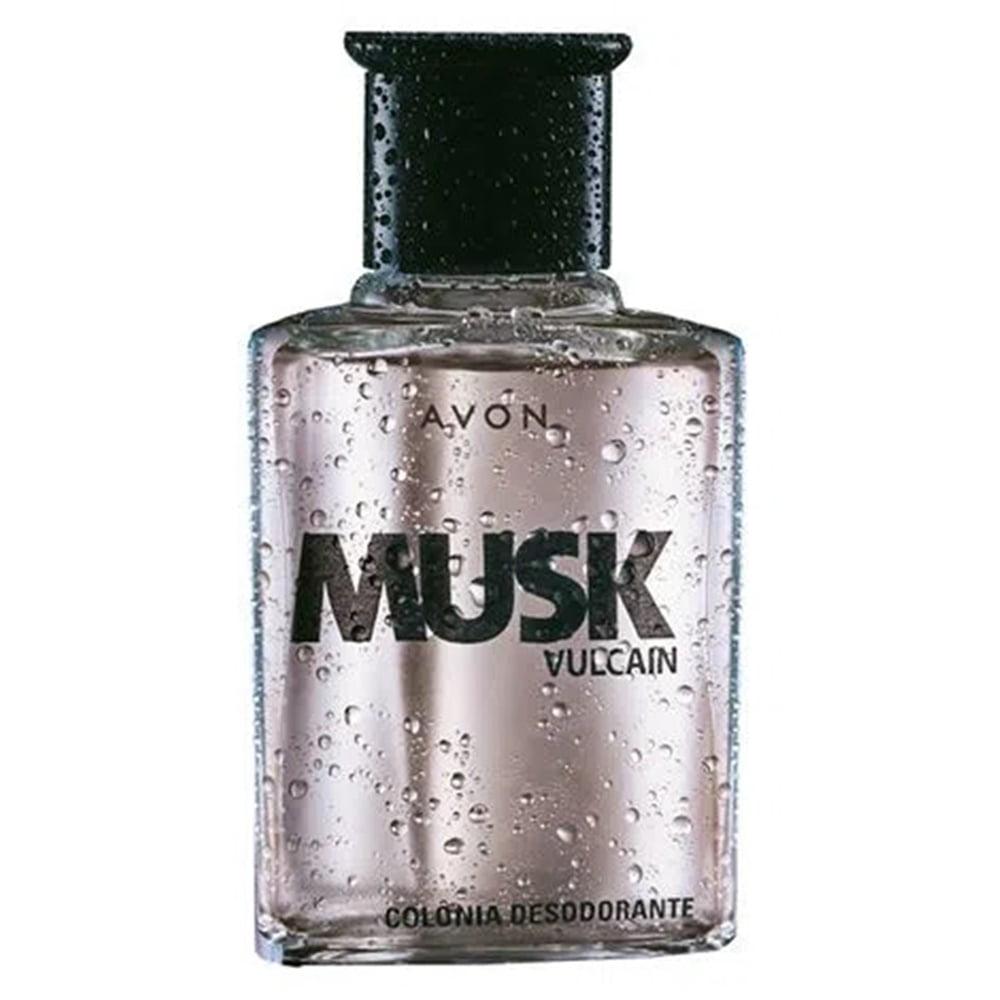 Avon Musk Vulcain Colônia Desodorante 90ml