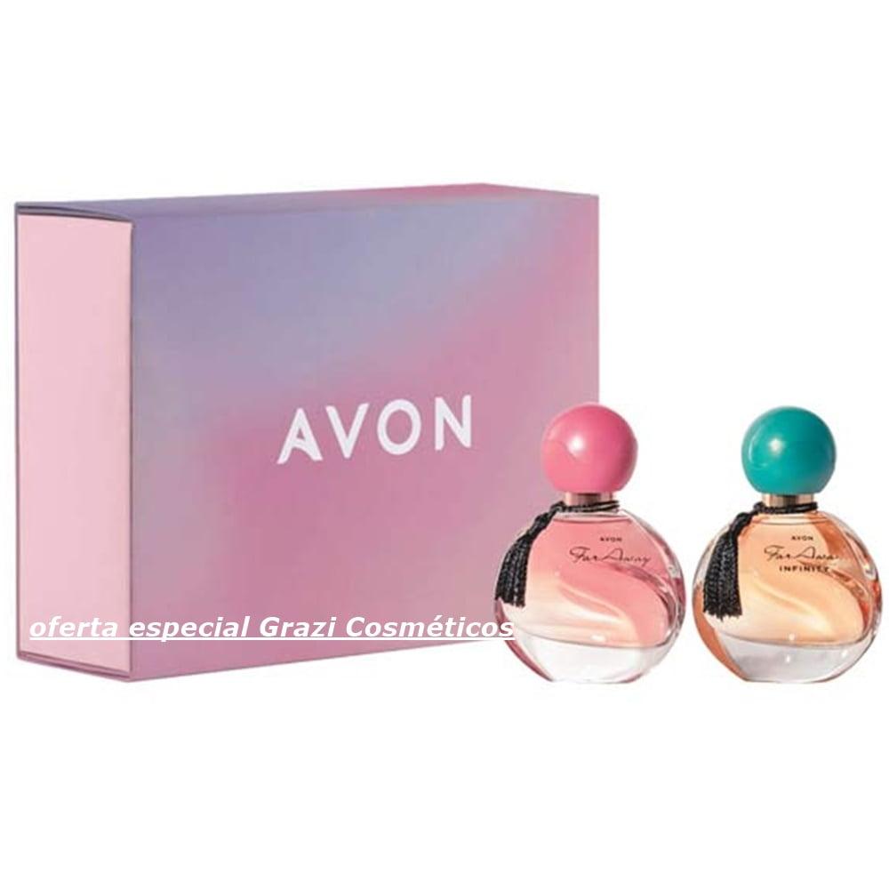Avon Perfumaria Presente Far Away Mini Duo