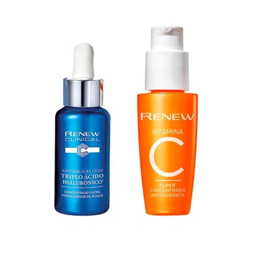 Avon Renew Clinical Kit Hialurônico Vitamina C