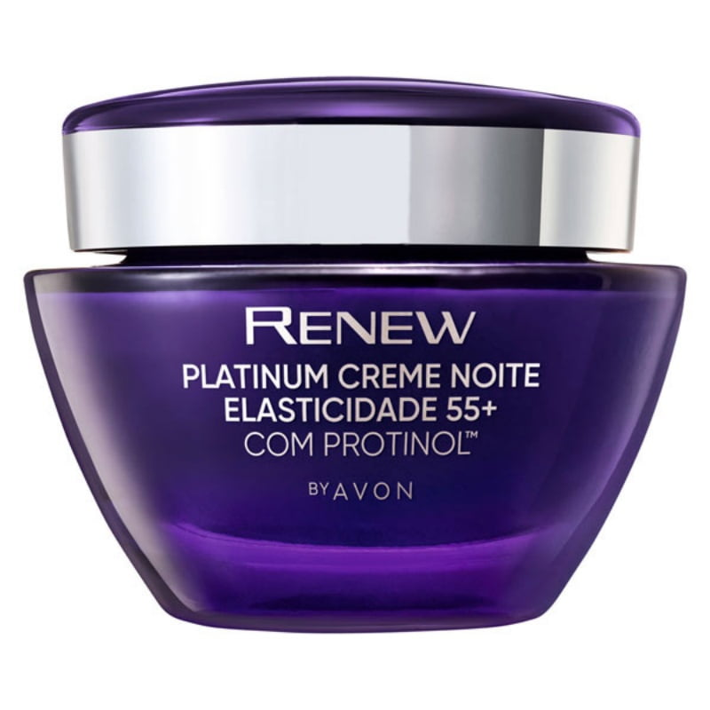 Avon Renew Platium 55+ Noite Protinol 50 g