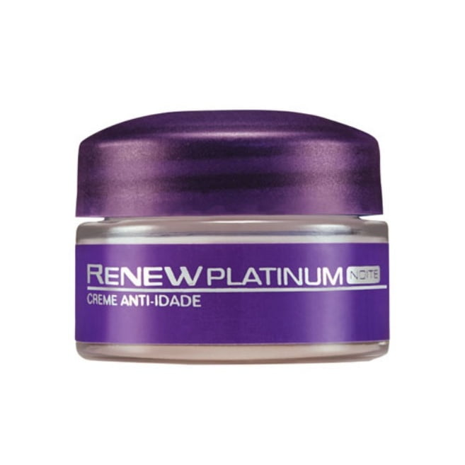 Avon Renew Platinum Creme Facial Noite  Miniatura 15g