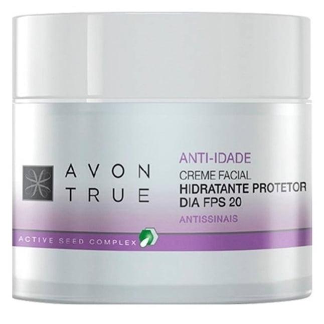 AVON TRUE Creme Facial Anti-idade Hidratante Dia 50 g FPS 20