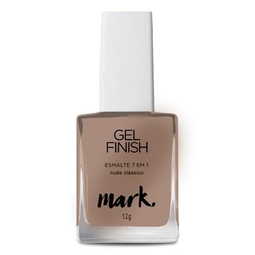 Esmalte Gel Finish 7 em 1 Nude Clássico Mark Avon 10g
