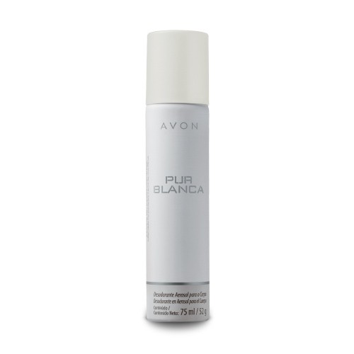 Avon Pur Blanca Desodorante Aerossol 75ml 50352-8