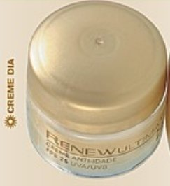 Avon Renew Ultimate Antiidade Creme Facial Dia FPS 25 Miniatura 15g 50570-4