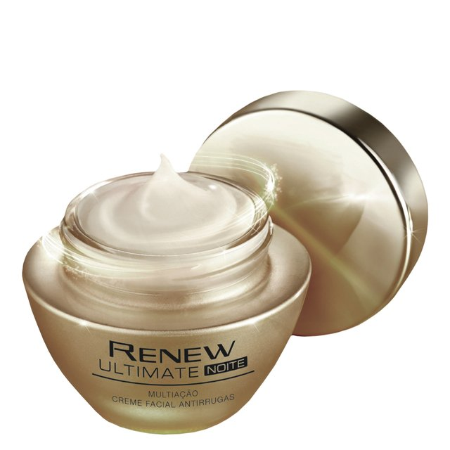 Avon Renew Ultimate Multiação Noite Creme Facial Antirrugas 50g