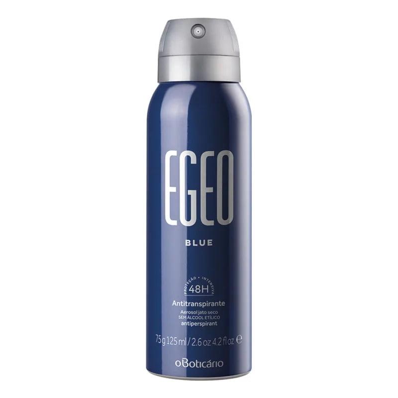 Desodorante Antitranspirante Aerosol Egeo Blue, 75g/125ml