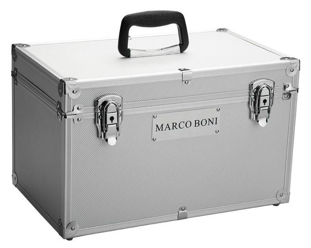 Maleta para Acessórios de Salão Beleza 2002 Marco Boni Alumínio com Divisória (2002)