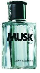 Avon Musk Fresh Colônia Desodorante 90ml