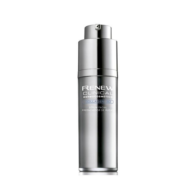 Avon Renew Clinical Collagen 3D Sérum Facial Preenchedor de Rugas 30ml