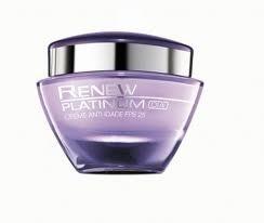 Avon Renew Platinum Dia Creme Anti-Idade FPS 25 60+ 50g