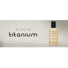 Avon COLÔNIA DESODORANTE MUSK TITANIUM 90ml