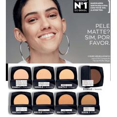 Avon Maquiagem Pó Compacto Facial Efeito Matte Caramelo FPS35 11g