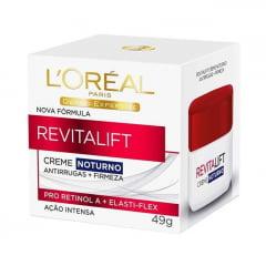 L'ORÉAL PARIS Rejuvenescedor Facial L'Oréal Paris Revitalift Creme Noturno 49g