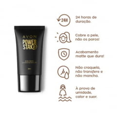 Avon Base Líquida Power Stay Bege Claro 30ml