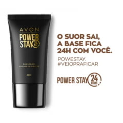 Avon Base Líquida Power Stay Bege Médio 30ml