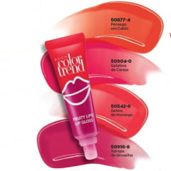 Avon Color Trend Fruity Gloss Labial 10g Pêssego em Calda