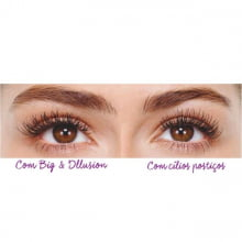 Avon Maquiagem Big & Illusion Máscara Extra Volume Efeito Cílios Postiços 10g 50265-3