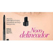 Avon Maquiagem Ulta Color Glimmerstik Preto Delineador Retrátil para Olhos Preciso 0,28g 51011-3