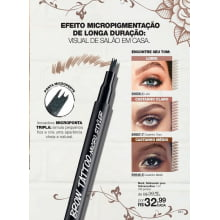 AVON MARK DELINEADOR PARA SOBRANCELHAS MARK. BROWN TATTOO
