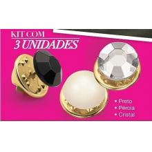 Avon Moda e Casa Abotoador PIN de decote Versátil Kit com 3 itens