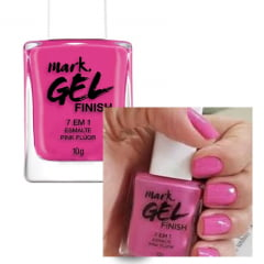 Avon Esmalte Avon Gel Finish 7 em 1 Dourado Pink Fluor 10 g