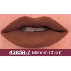 AVON BATOM LIP SCULPT TRIANGULAR MARROM CHIC 1g