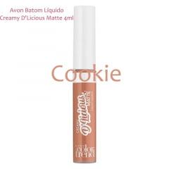 Avon Batom Líquido Creamy D'Licious Matte Cookie 4ml