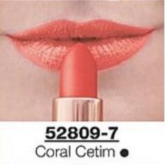 Avon Batom Supreme Oil Hidratante Coral Cetim FPS 15 3,6g