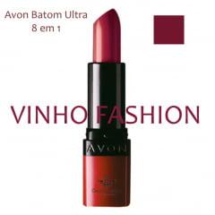 Avon Batom Ultra 8 em 1 Vinho Fashion 3,6g