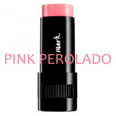 Avon Blush Cremoso Mark. Be Blushed Stick Pink Perolado 8g