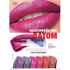 AVON COLOR TRENDBATOM EFEITO SOFT METÁLICO COLOR TREND FPS 15 3,6G