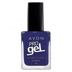 Avon Esmalte Avon Cor e Brilho Pro Gel Anoitecer 10g