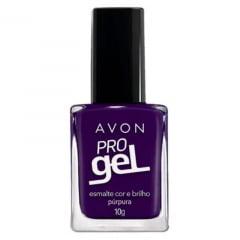 Avon Esmalte Avon Cor e Brilho Pro Gel Purpura 10g