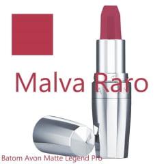 AVON LEGEND BATOM MATTE LEGEND  MALVA RARO 3,6g