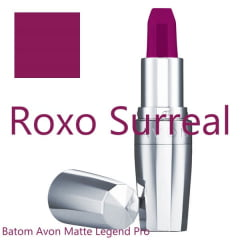 AVON LEGEND PRO BATOM MATTE LEGEND  ROXO SURREAL 3,6g