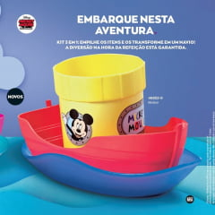 Avon Moda e Casa Kit Lanche Navio/Barco Mickey